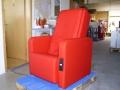 Massagesessel Primera mit Münzeinwurf, Farbe: Rot