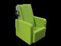 Massagesessel Primera mit Chipkarte, Farbe: Grün