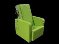Massagesessel Primera, Farbe: Grün