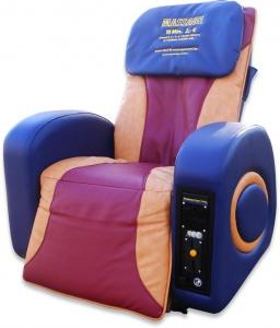 Vital-Fit Massagesessel Münz Pro, mehrfarbig