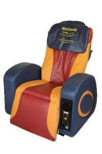 Vital-Fit Massagesessel Münz-Pro